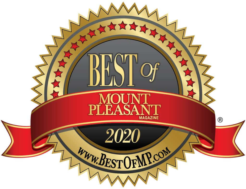 Voted 2020 Best Oral Surgery by Mount Pleasant Magazine
