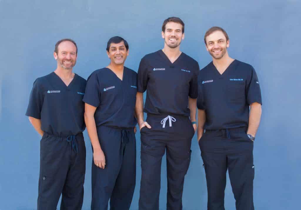Dr. Edward Strauss, Dr Aaron Sarathy, Dr. Graham Lee, Dr Drane Oliphant