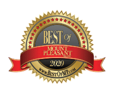 Best of Mt Pleasant Winner badge 2020