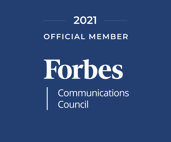 Forbes Communication Council Member badge